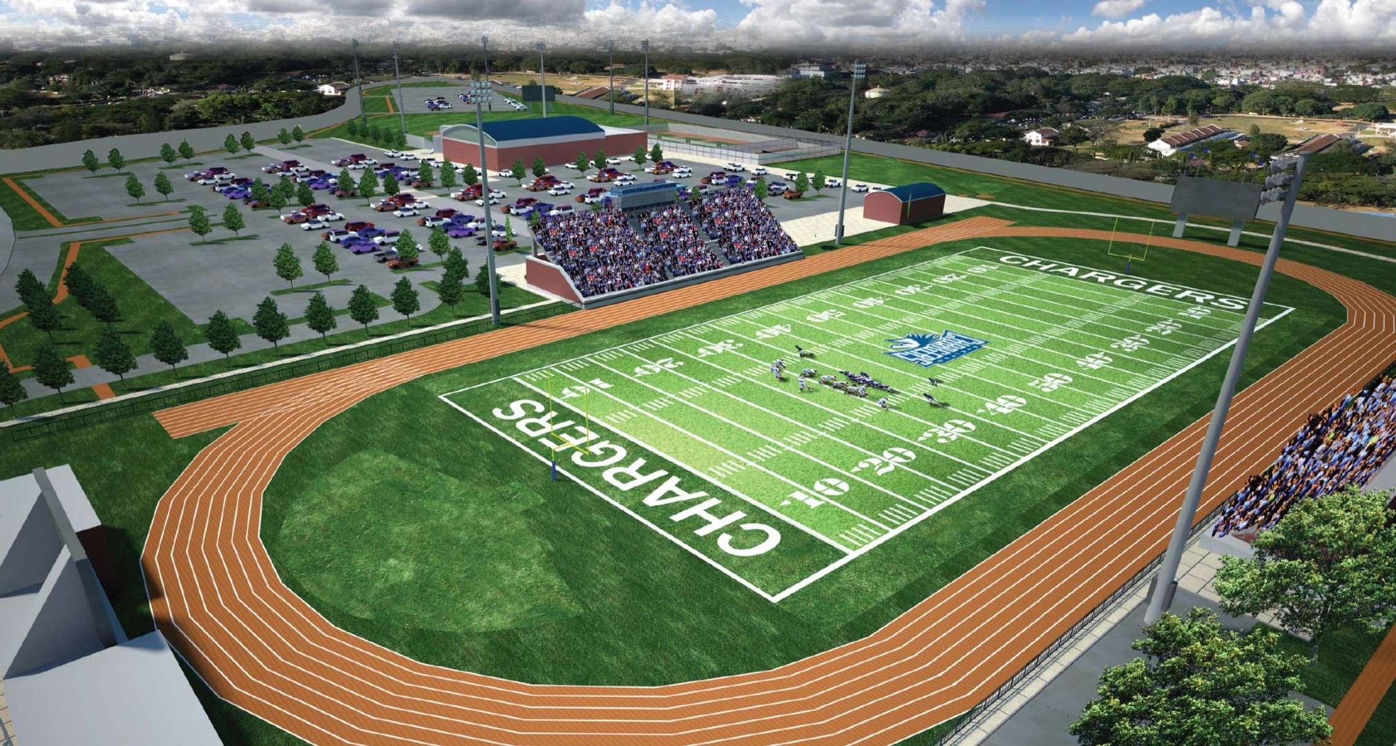 Shelton School - Sports Complex
