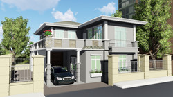 2 Story with Hip Roof (20 D)