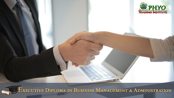 Executive Diploma in Business Management