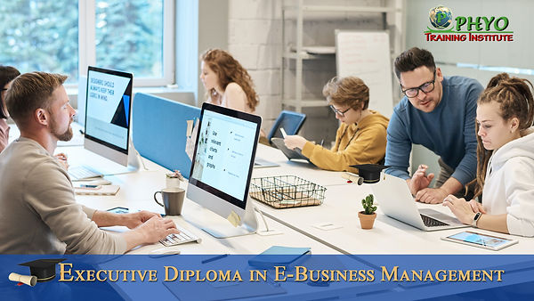 PHYO Executive Diploma in E-Business Man