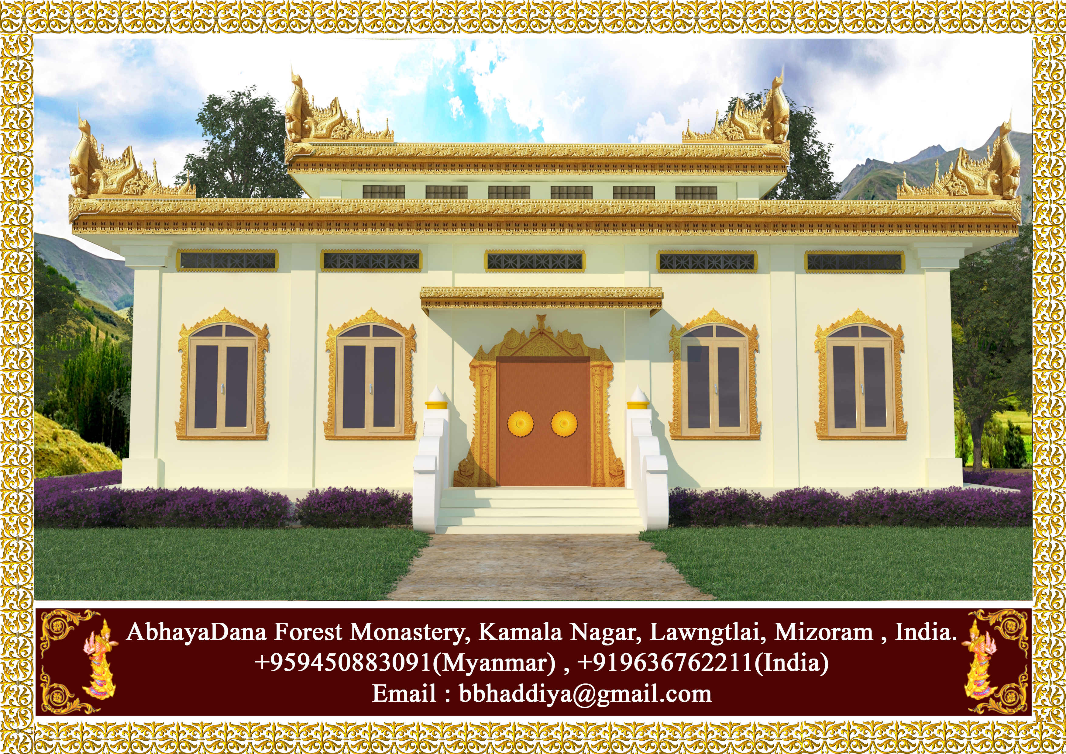 Mizoram Monasetry