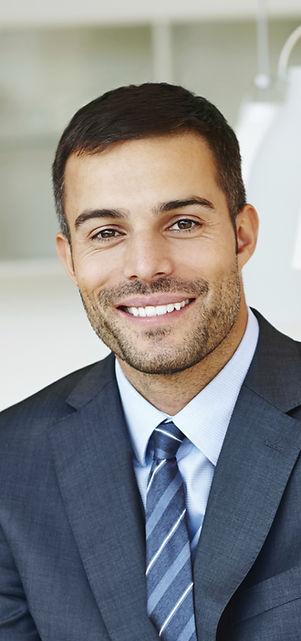 Smiling Man in Suit