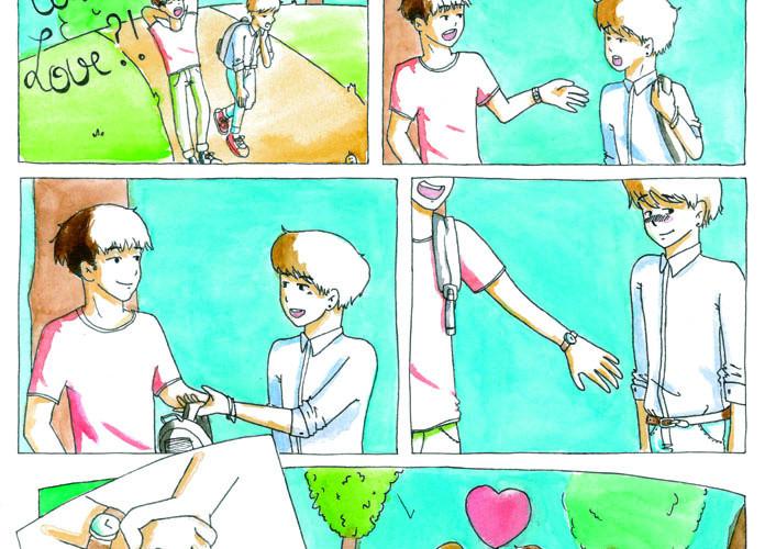 What is love - PETIT FAUVE DE BRONZE
