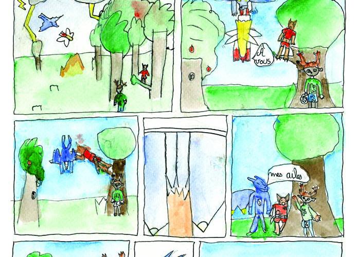 La guerre des mondes page 2 - PETIT FAUVE DE BRONZE