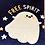 Thumbnail: Free Spirit Ghost T-Shirt