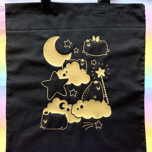 Royal Bear Tote Bag