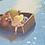 Thumbnail: Girl & Bear in Boat A5 Art Print