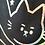 Thumbnail: No Cat Glittery Tote Bag