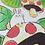 Thumbnail: Bunny and Mushroom A5 Art Print