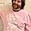 Thumbnail: Haunted Home Baby Pink Sweatshirt Jumper