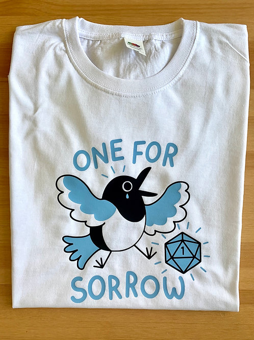 D&D One for Sorrow Magpie T-Shirt