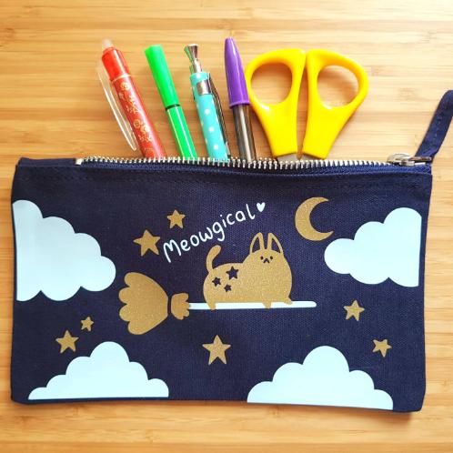 Cute Cat Accessory/Pencil Case