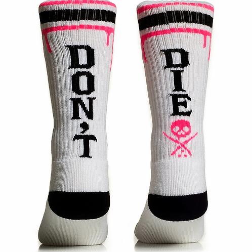 Don't Die White Pink