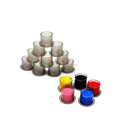 Stable Black Clear Cups (1000)