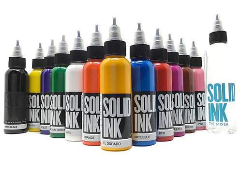 SOLID INK 1oz (A-F)