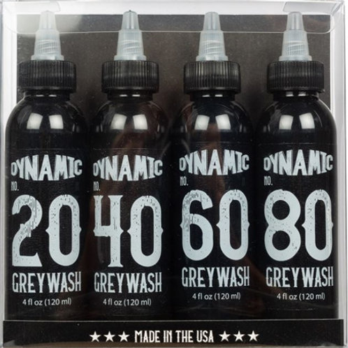 DYNAMIC INK GreyWash & Mixers