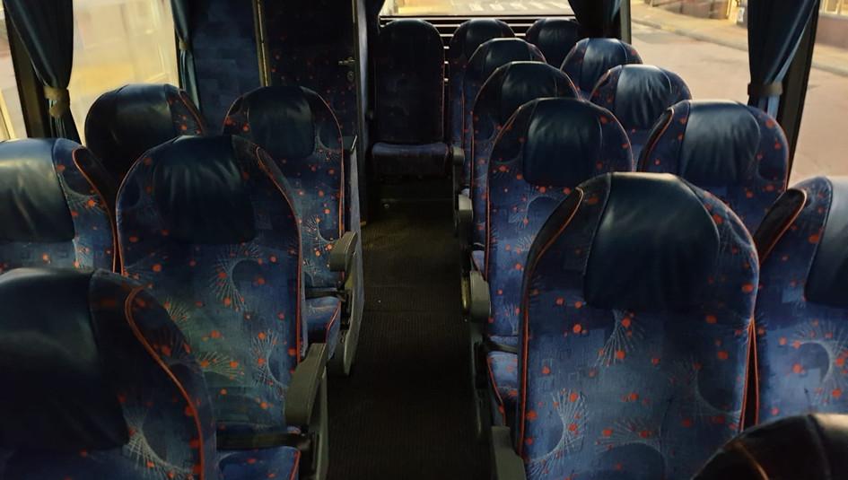 Van Hool VDL Coach - Rear Seating