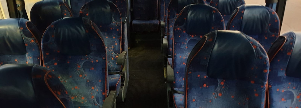Van Hool VDL Coach - Rear Seating