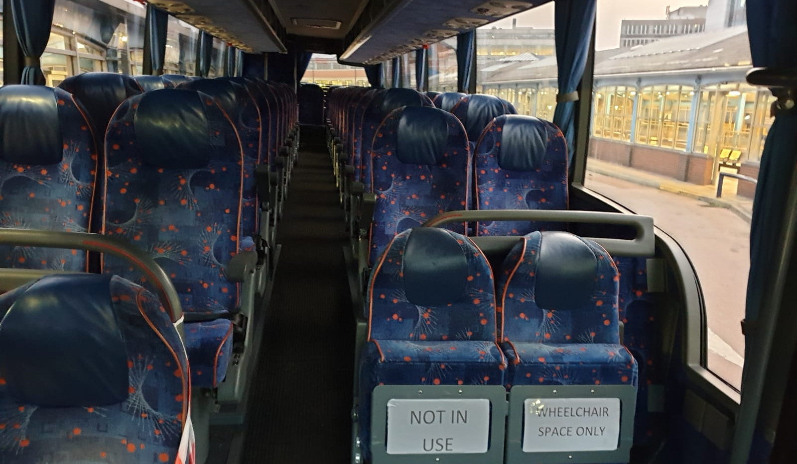 Van Hool VDL Coach - Seating Front