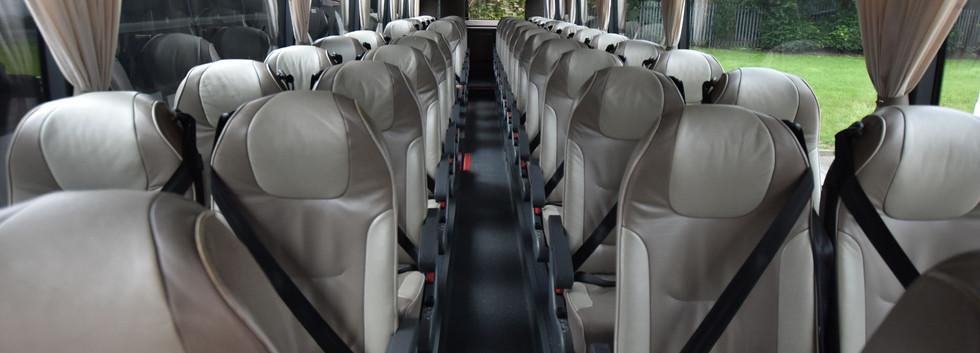 Van Hool Astron Seating Area