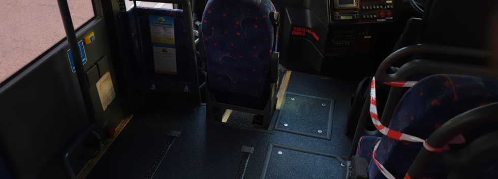 Van Hool VDL Coach - Wheelchair Area