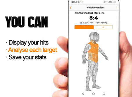 3 Easy Steps to Improve Fencing Training with  Planchet Tracker