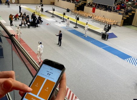 Planchet Tracker Professional makes a great tool for fencing coaches