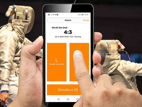 Best Mobile App for Fencers? Bet on Planchet Tracker