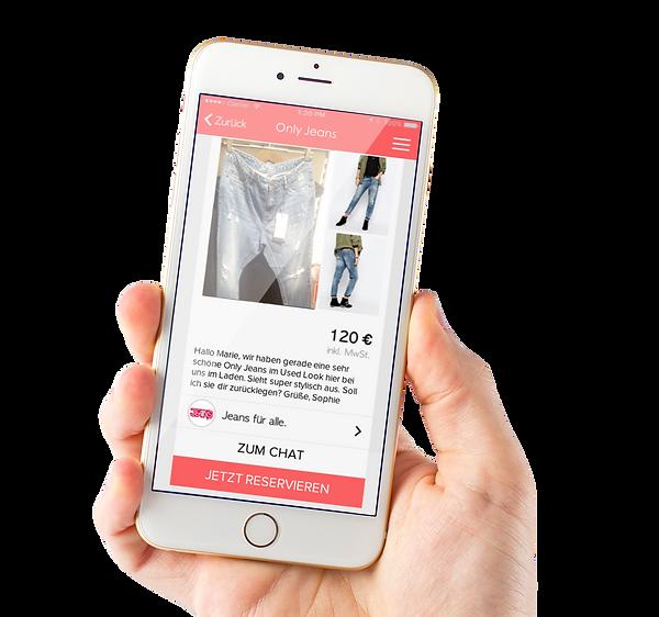 Einkaufshelden App-Screen