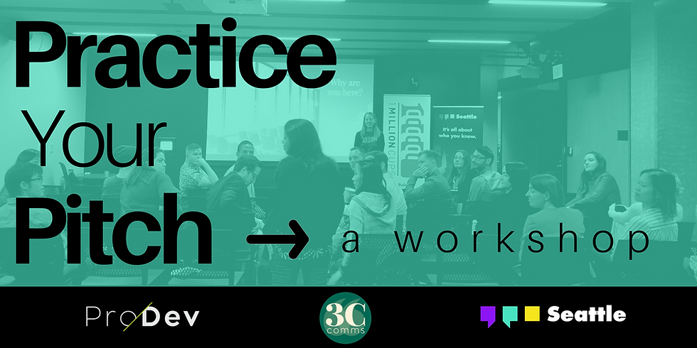 The Lab: Practice your Pitch