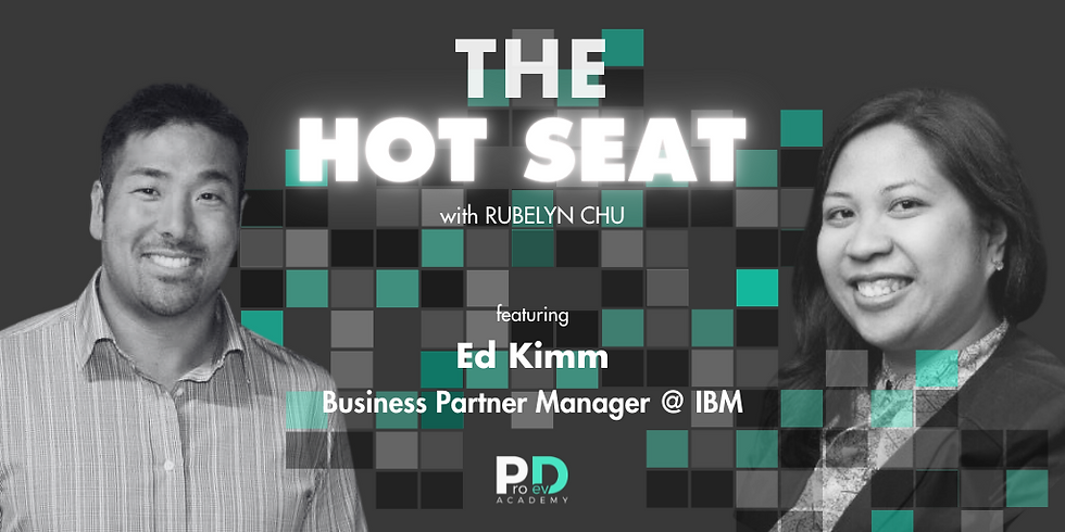 The Hot Seat: Ed Kimm | Founders @ IBM