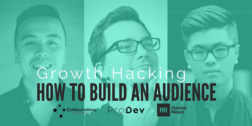 The Council: Growth Hacking - How to Build an Audience