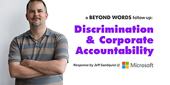 Discrimination & Corporate Accountability with Jeff Sandquist