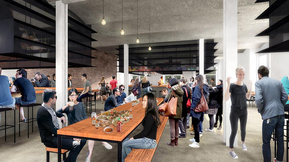 Philip Deng's vision for a open street food market inside of King Street Station
