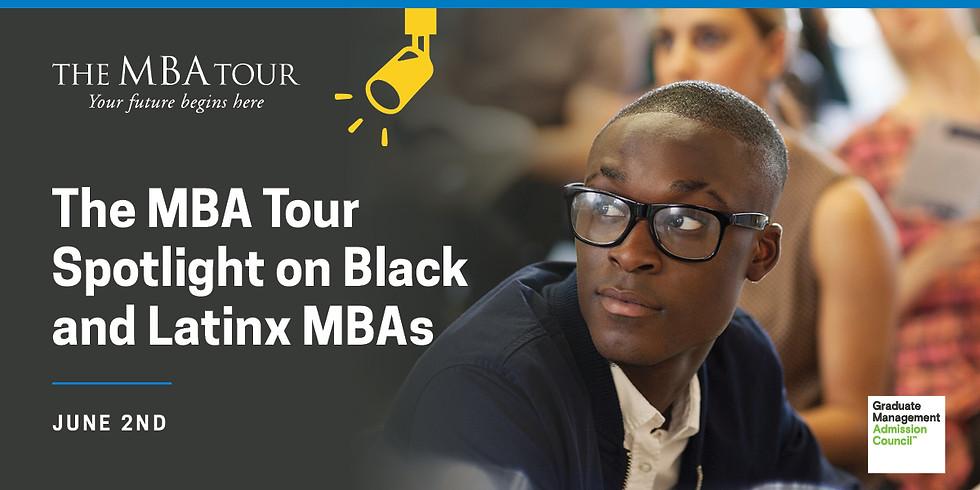The MBA Tour Spotlight on Black and Latinx MBAs