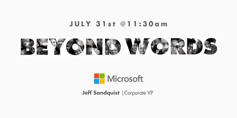Beyond Words   Microsoft