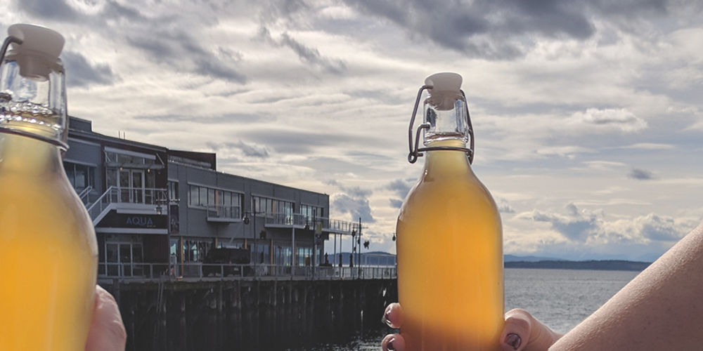 A Seattle Experience_ Kombucha Challenge with Bucha Belly - Title Image - YP Media