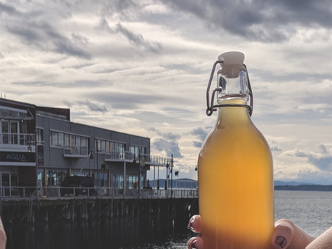 A Seattle Experience: Kombucha Challenge with Bucha Belly