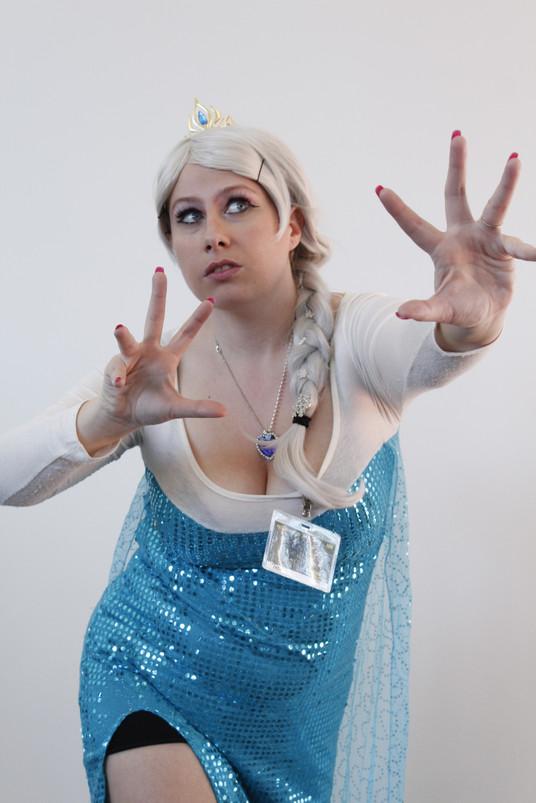 Tabitha as Elsa