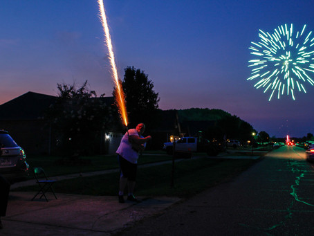Slow down your shutter speed for 4th of July Fireworks