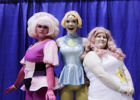 Steven Universe gems, PastelGothSloth as Pink Daimond