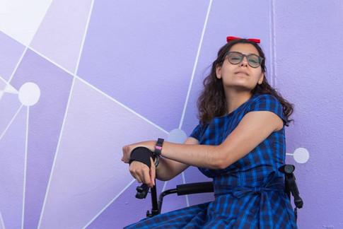 Purple wall of Dapper Day