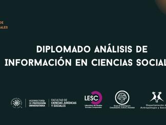 Apertura primera cohorte del Diplomado Análisis de Información en Ciencias Sociales.