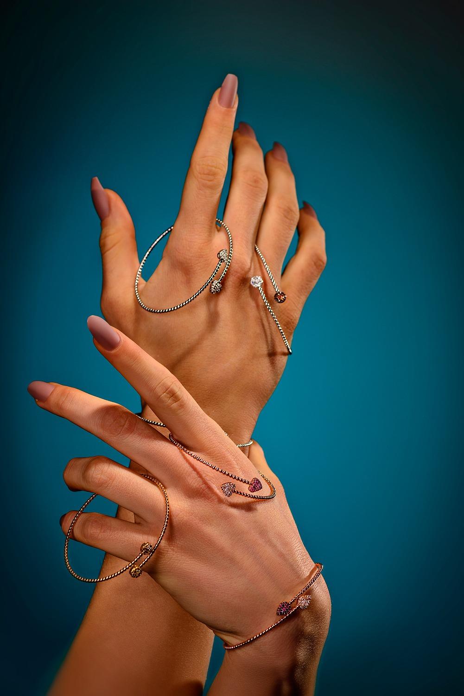 bracciali oro e zaffiri