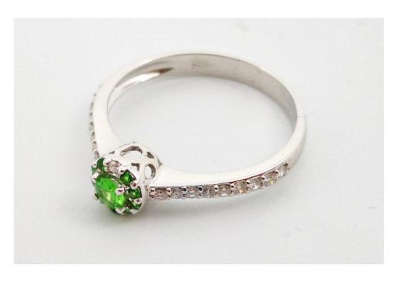 Anello Linea A green