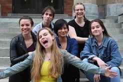 "2nd year students in John Abbott's ""Arcadia"""