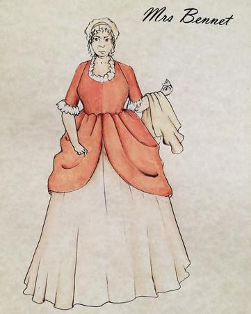 Costume Design by Mrs. Bennett