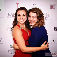 At the METAs 2016 with Ashley Frankel