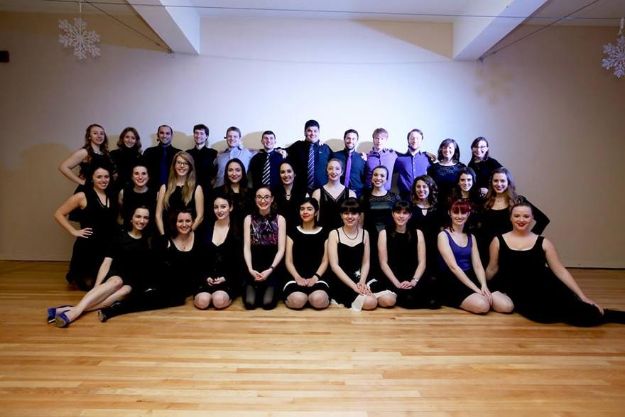 "The cast of ""Encore"""
