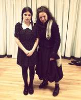 """In rehearsals for """"The Addams Family"""""""
